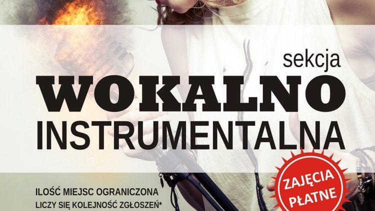 Nowa sekcja wokalno-instrumentalna!