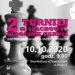 II Turniej Szachowy w Dolinie Karpia pod Patronatem Wójta Gminy Przeciszów – 10.10.2020 roku Dom Kultury w Przeciszowie