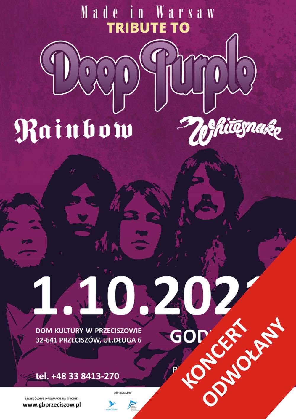Koncert Made in Warsaw odwołany!