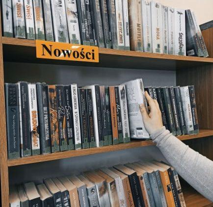 Znajdziesz mnie w bibliotece, czyli podróż książki