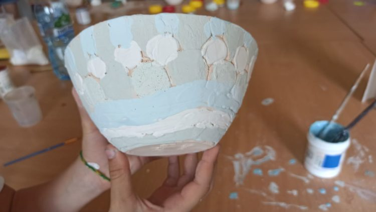 Warsztaty ceramiczne czyli dziś szkliwimy!